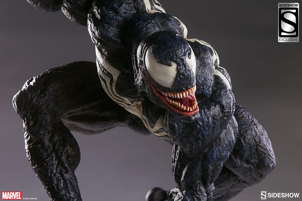 【完整官圖、販售資訊更新】Sideshow Collectibles【猛毒】Venom 1/4 比例全身雕像作品