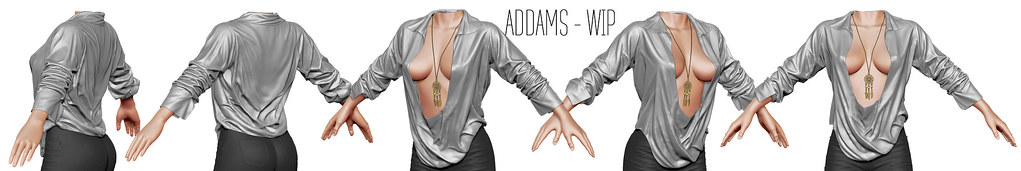 ADDAMS @ NEW Work in Progress ♥ - SecondLifeHub.com