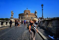 St. Angelo bridge, Rome
