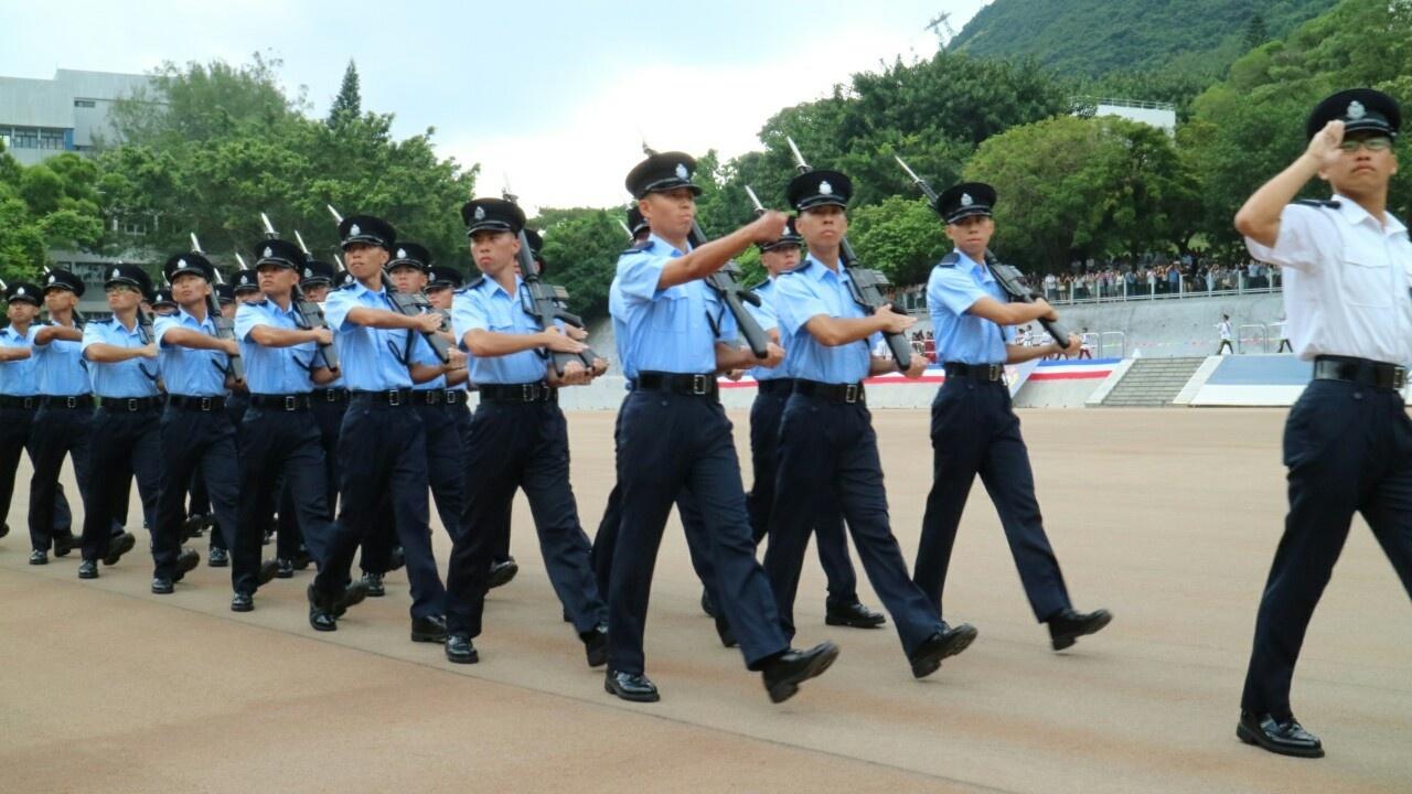 希望大家能夠保持初心,繼續努力維護香港法治。(資料圖片)