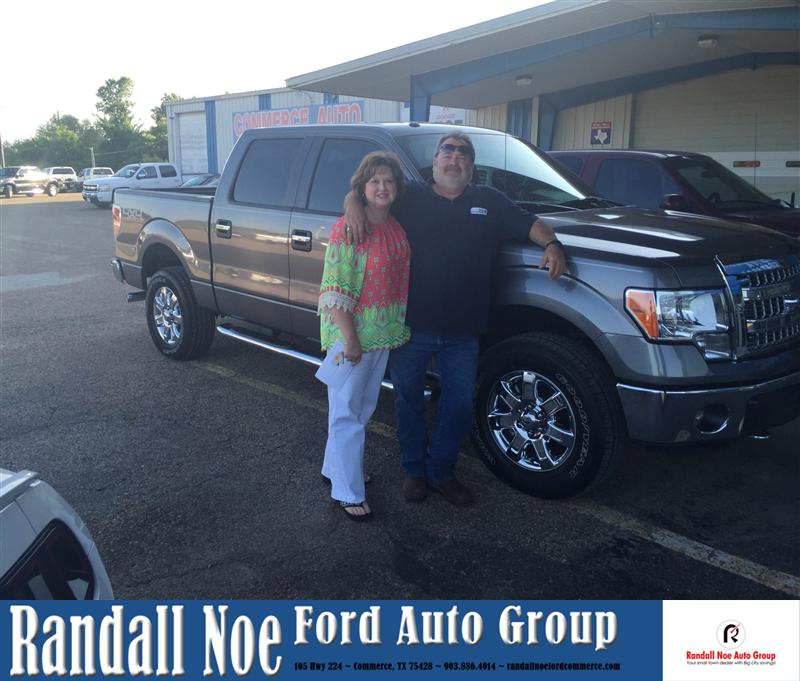 Randall Noe Terrell Tx >> Congratulations to Gary Williamson on your #Ford #F-150 fr ...
