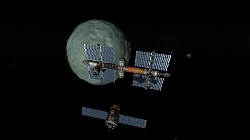 Prometheus 2 Rendezvous with Keats Station 2