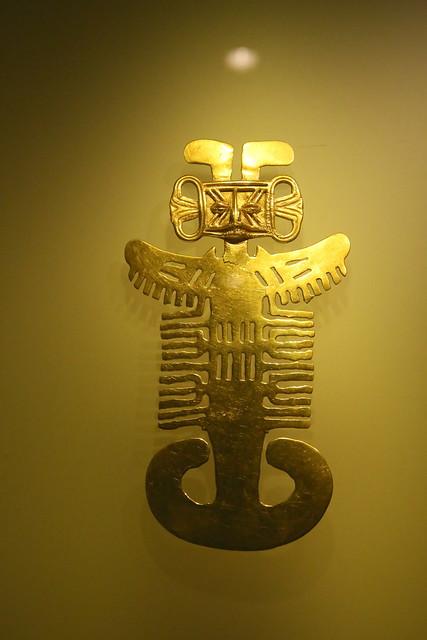 Museo de Oro.  Bogota, Colombia.