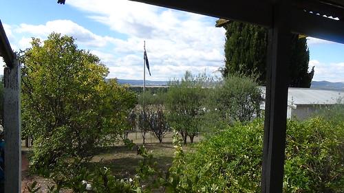 View from the Mugga Mugga Verandah