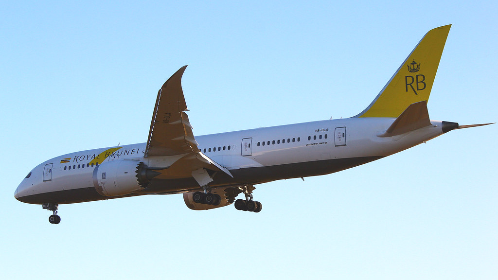 V8-DLA - B788 - Royal Brunei Airlines