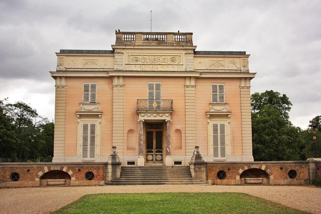 Château de Bagatelle, Parc de Bagatelle, Bois de Boulogne, Paris
