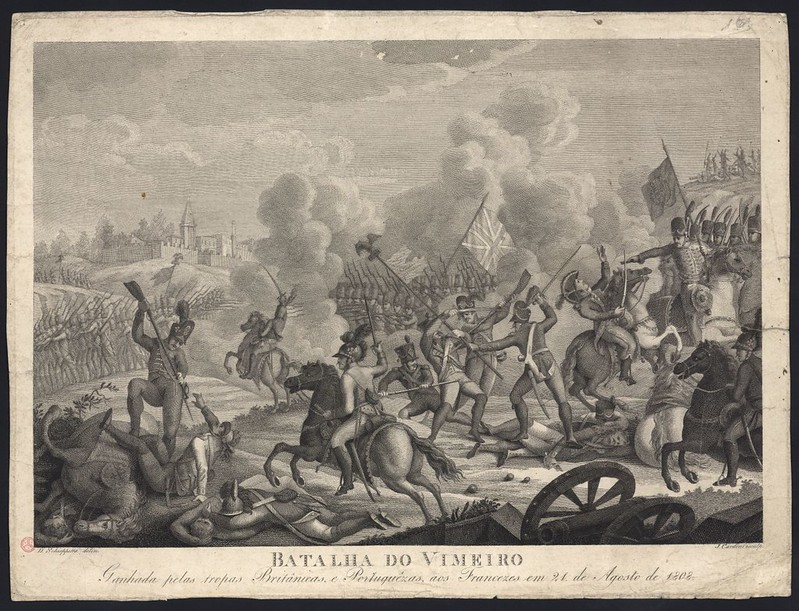 Battle of Vimeiro, by J. Cardini