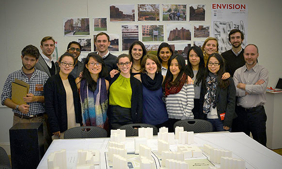 As a part of AAP NYC's fall Urban Design Studio, second-year M.R.P. and M.L.A. students devised a simulation tool, Envision Baruch, to foster community engagement for increasing affordable housing on Manhattan's Lower East Side.