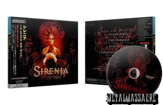 cd sirenia the enigma of life
