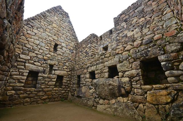 Gigantescas habitaciones de Machu Picchu