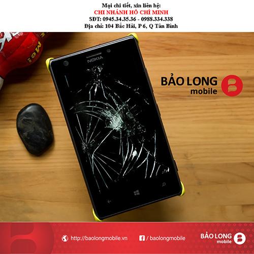 Chỉ dẫn cho người dùng các chỗ chuyên thay thế mặt kính Lumia 625 trong Sài Gòn