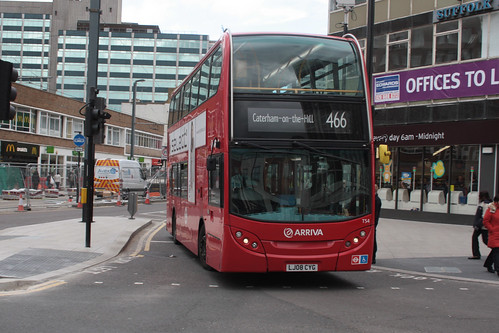 Arriva London South T54 LJ08CYG