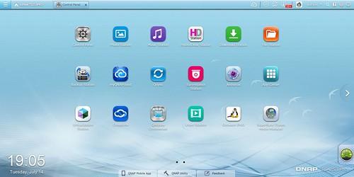 Desktop ของ QNAP