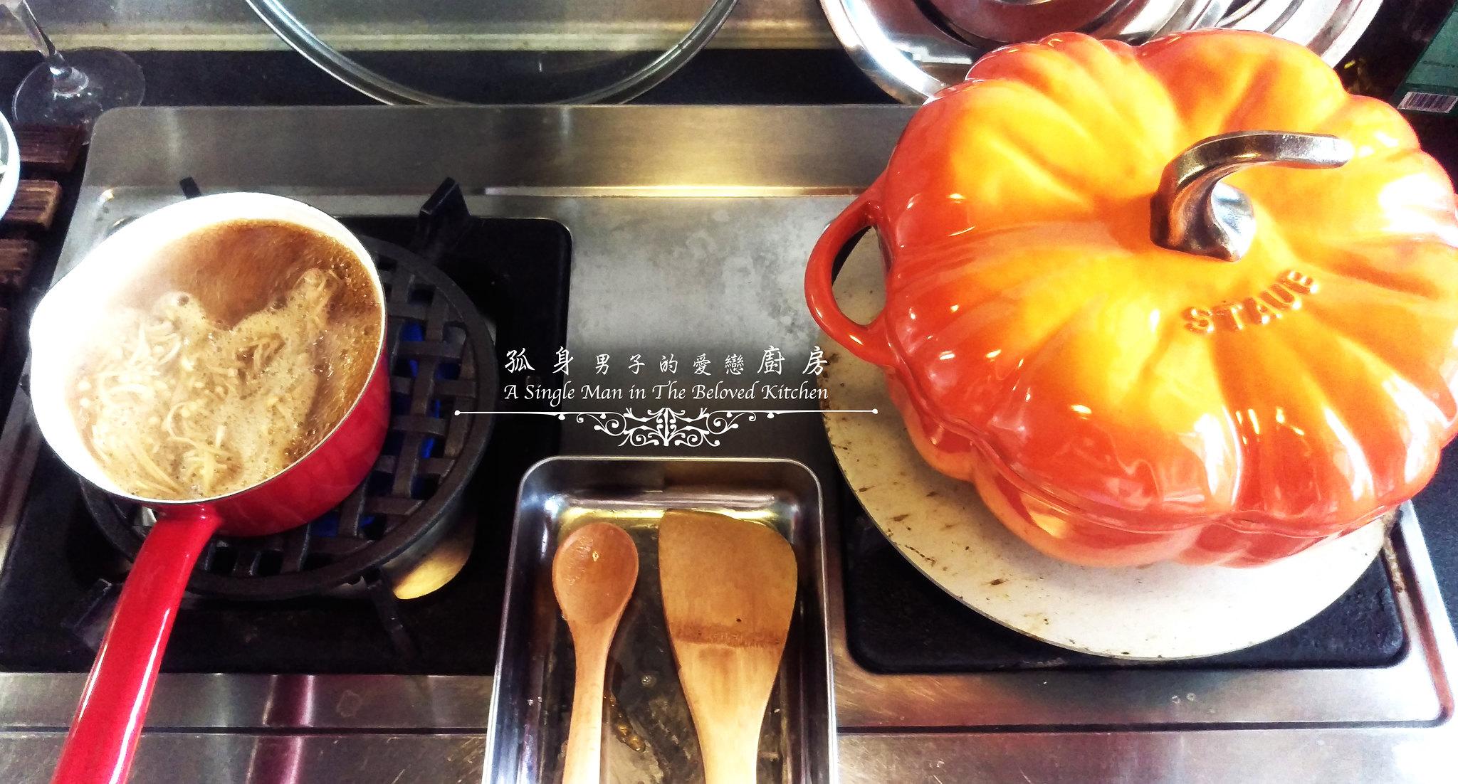 孤身廚房-食譜書《常備菜》試作——筑前煮、醬煮金針菇。甜滋滋溫暖和風味17