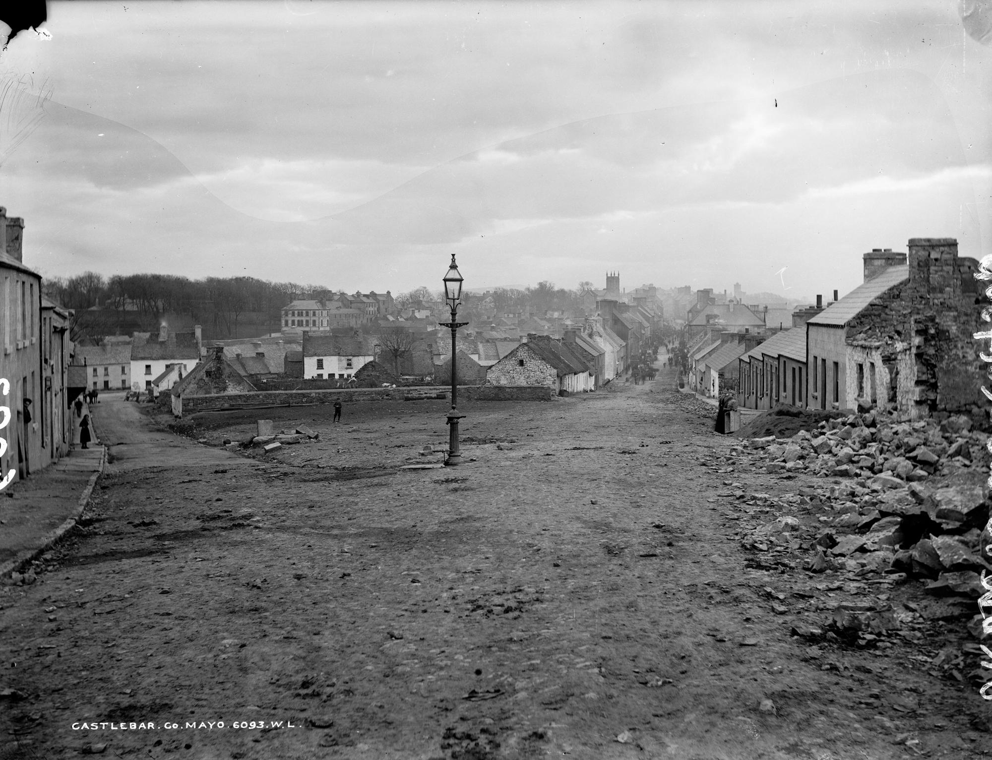 Rebuilding Castlebar, Co. Mayo