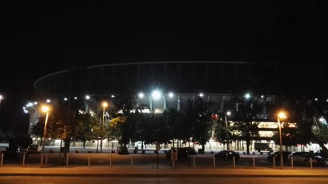 Das Ernst-Happel-Stadion by Night