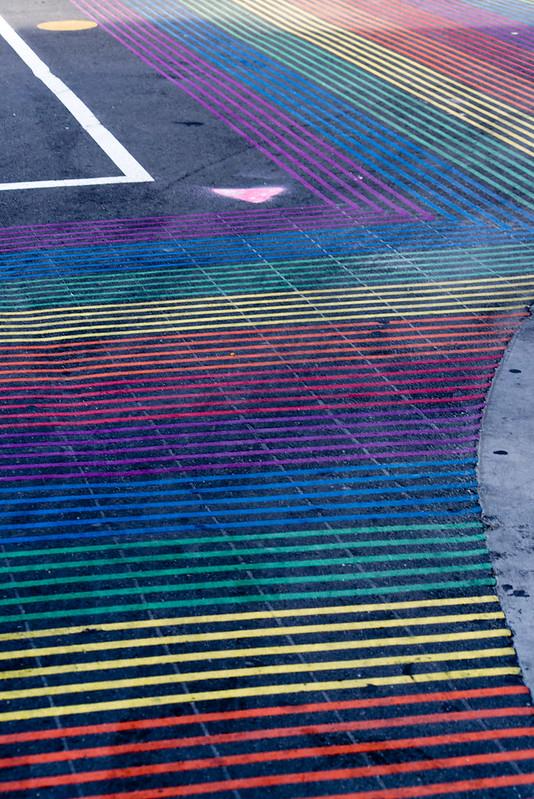 Rainbow Pedestrian