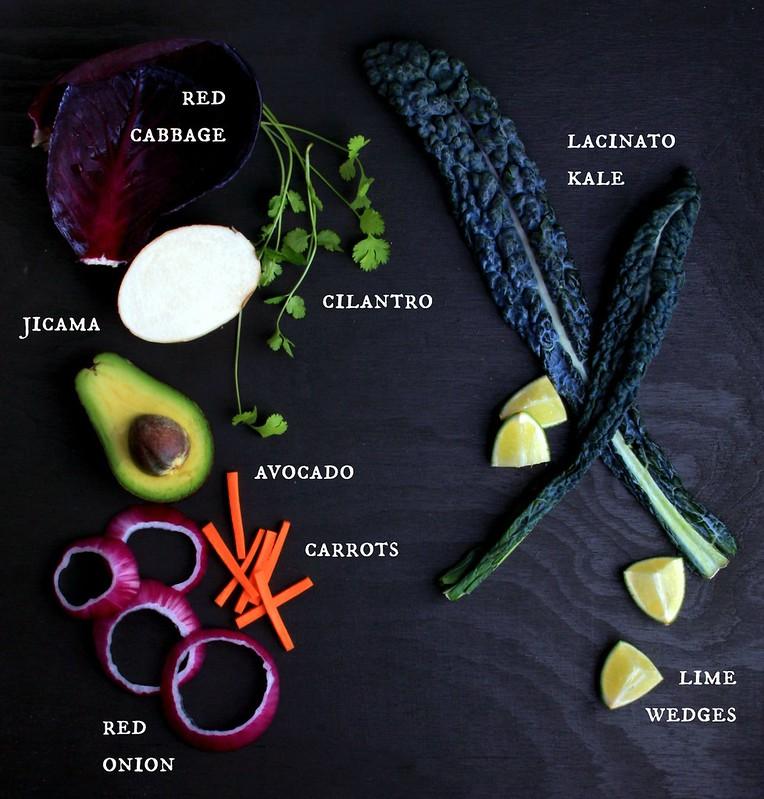 Rawkin' Rainbow Kale Salad