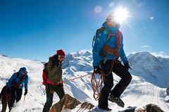 Výstup na Breithorn ve Švýcarsku
