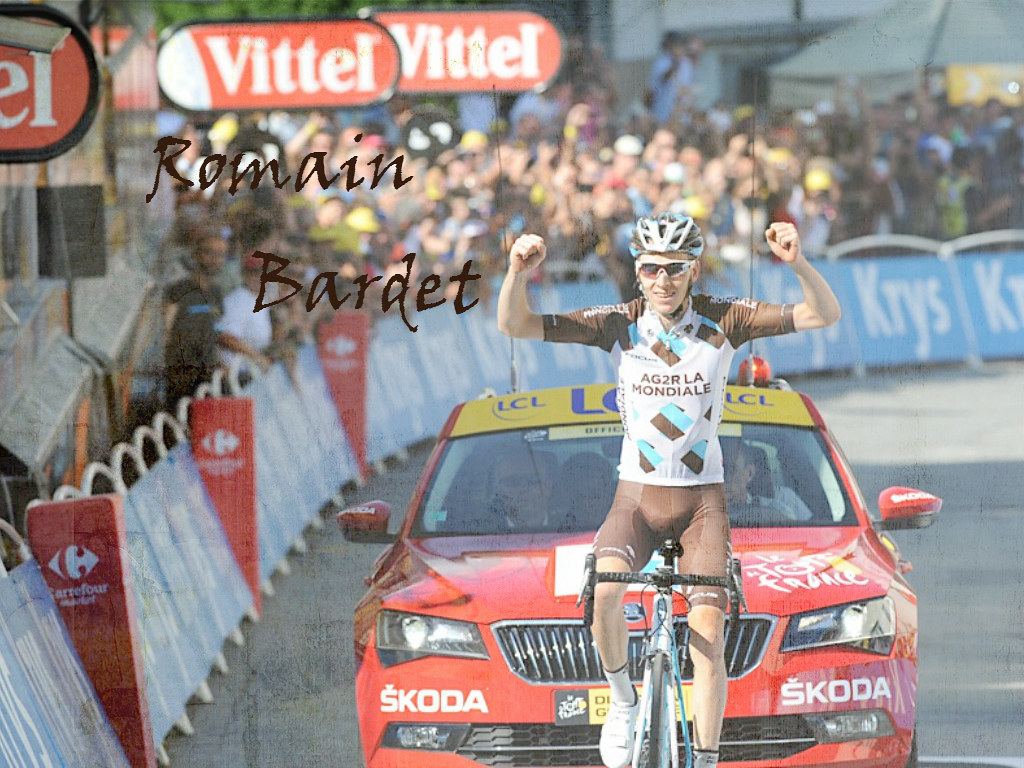 Wallpaper Romain Bardet TDF15