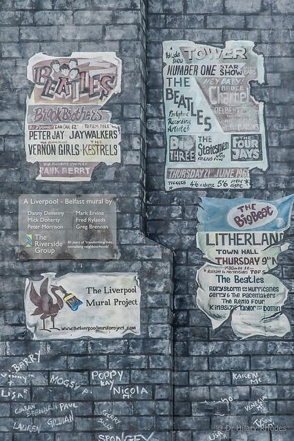 A Liverpool Belfast Mural detail