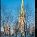 La cathédrale de Trois-Rivières au coucher du Soleil by Mario Groleau | mgroleau.com