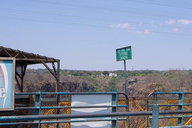 Crossing to Zimbabwe