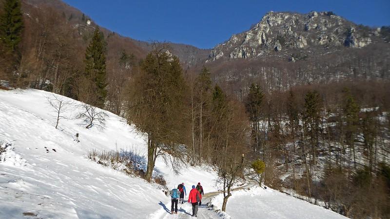 Kopitnik 910 m, SLOVENIA, January 2017