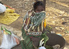 Tribal woman on Taregaon market