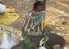 Tribal woman on Taregaon market