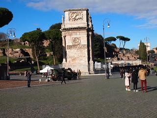 Image of Colosseum near Roma Capitale. trip20170208 rzym roma muzeumwatykańskie colosseum geo:lon=12491519 geo:lat=41889806