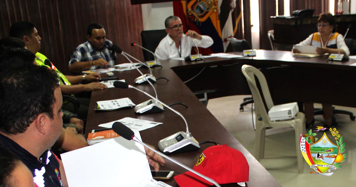 COE Cantonal se reúne y evalúa actividades