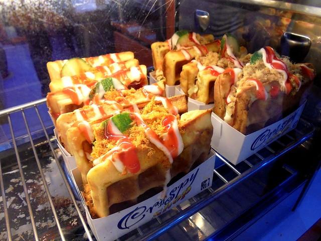 Crispy Shop waffles