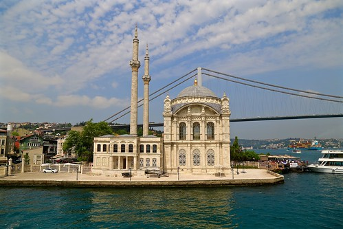 Ortaköy Mosque on the Bosphorus