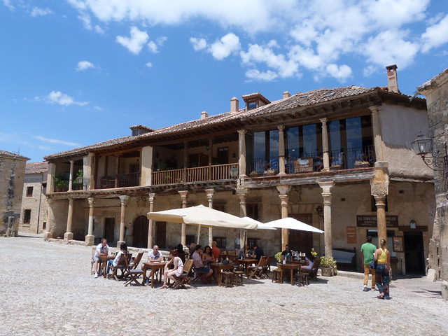 Plaza Mayor de Pedraza (Segovia)
