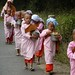 young nuns on the road, Shan State by phginlon