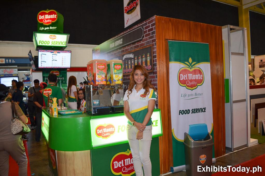 Del Monte Food Service Tradeshow Booth