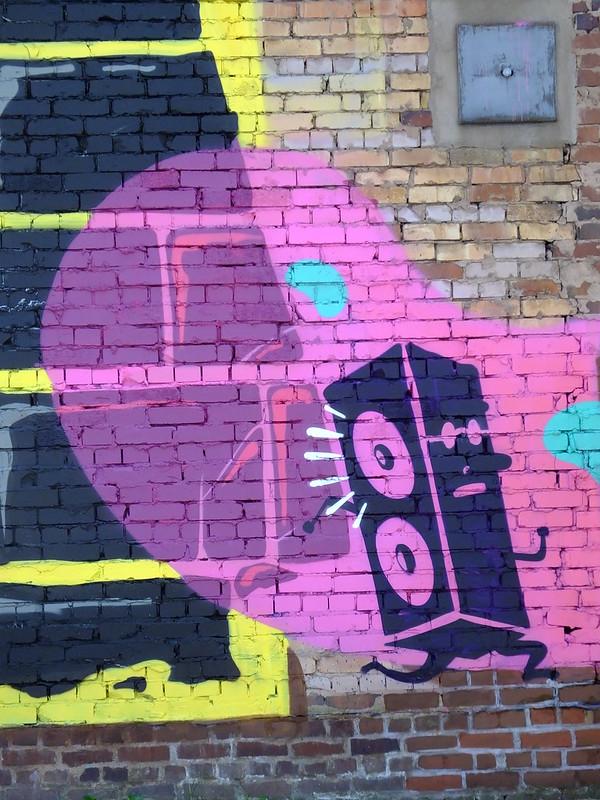 Gent, Newso street art, Birmingham