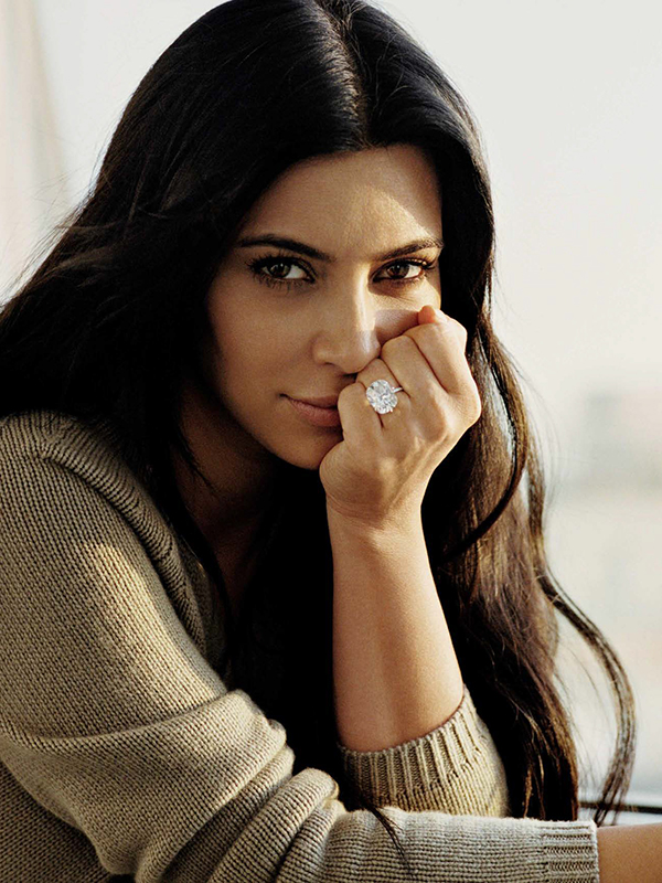 Kim Kardashian for Vogue Spain August 2015
