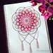 Hand drawn Mandala by wdougallart