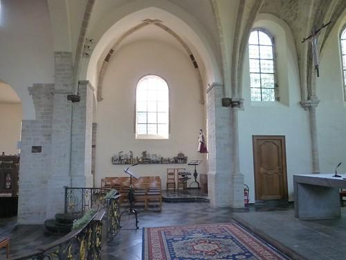 Le Choeur de l'église Saint-Martin de Tourinnes-la-Grosse.