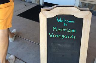 Merriam Vineyards - Welcome