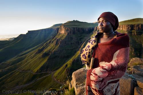 sunrise lesotho shepherds basotho sanipass mokhotlong thabatseka