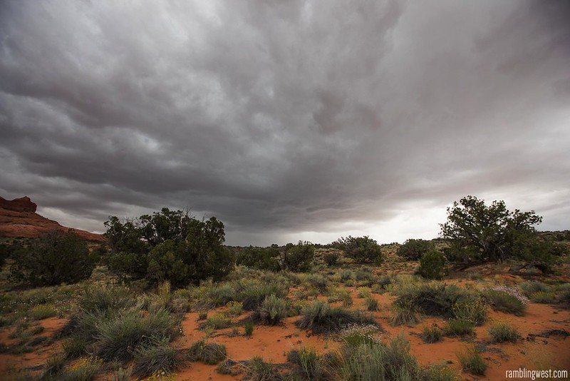 The Storm Approaches..., Buckskin Gulch image