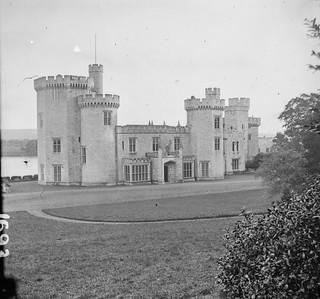 Gothic revival castle