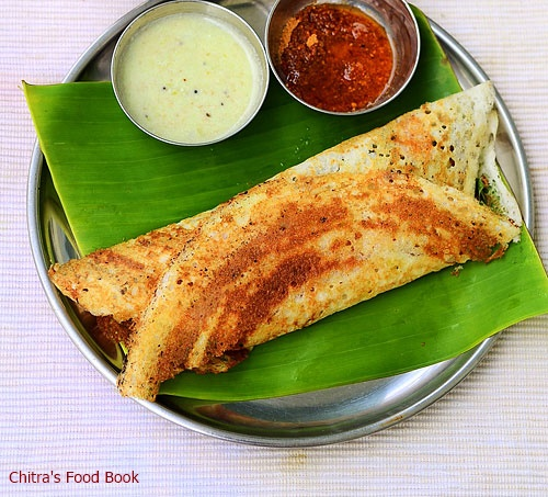 Tamil nadu style masala dosa