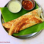 South Indian masala dosa recipe