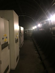 Ventilation tunnel at Charing Cross underground station