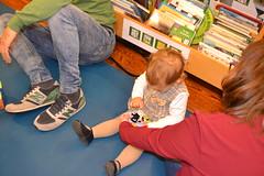 Bebencontros na Biblioteca Infantil e Xuvenil. Decembro 2016: 13-24 meses