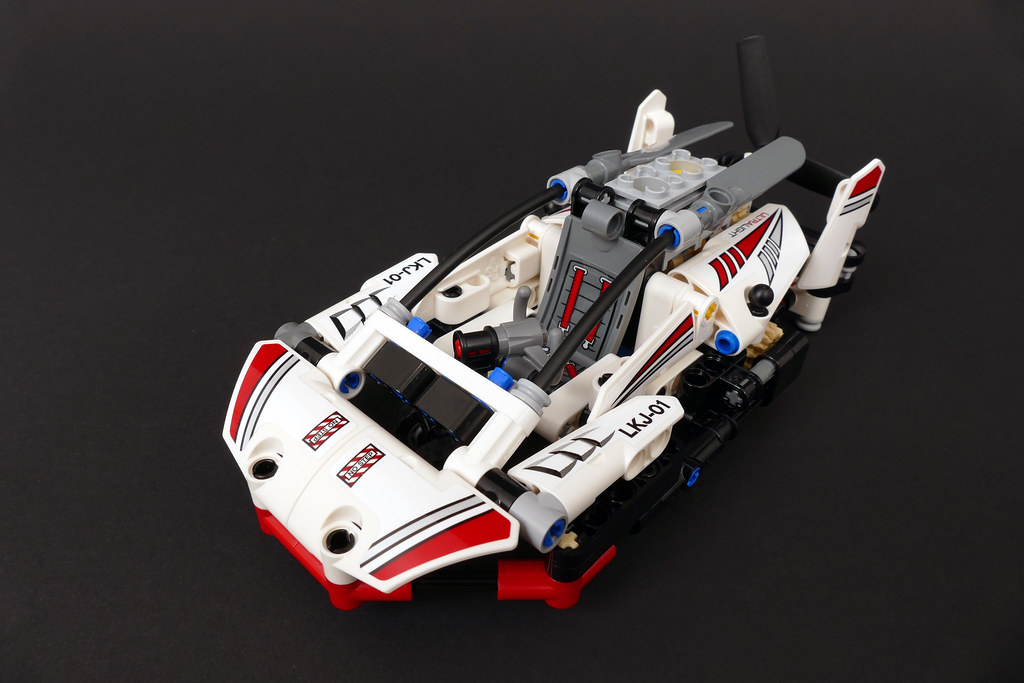 LEGO Technic 42057 Hovercraft Alternate MOC